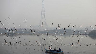 Haze wraps India's capital again as air quality plummets