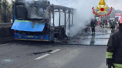 Carabiniere, quando Sy diede fuoco a bus
