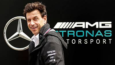 Mercedes boss Wolff to skip Brazil now both F1 titles won