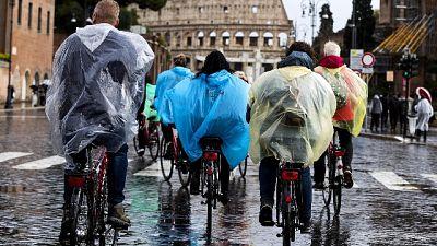 Maltempo: piogge e venti sull'Italia