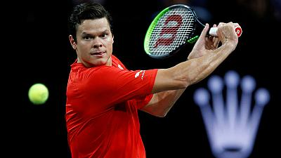 Raonic withdraws from Canada's Davis Cup team