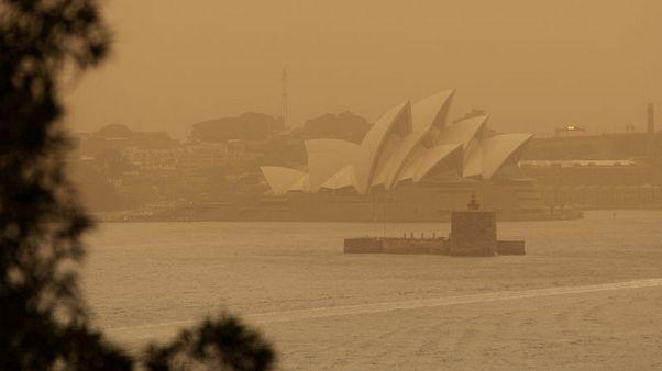 Aircraft combats Sydney blaze as Australians reel from bushfires