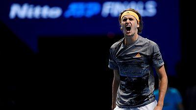 Nadal beaten by Zverev in ATP Finals opener
