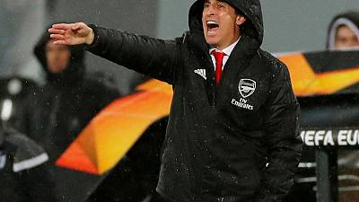 Arsenal's under-fire Emery gets club's public backing