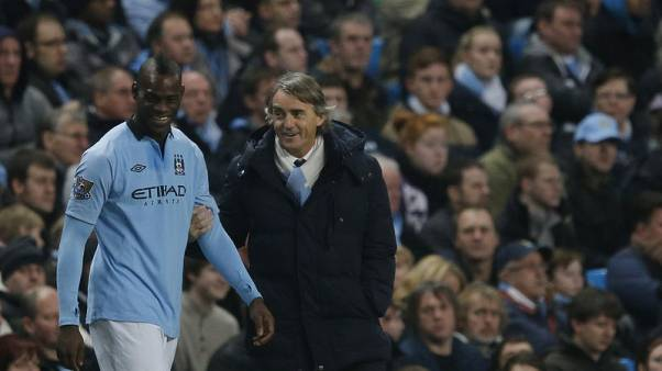 Mancini says won't call up Balotelli just to make a statement
