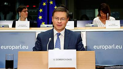 EU Commission to propose bank capital reform by June - Dombrovskis