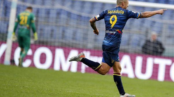 Lecce non farà ricorso per gol annullato