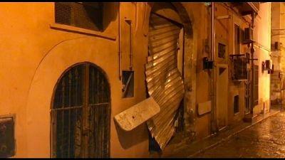 Bomba vicino ristorante Foggia,un ferito