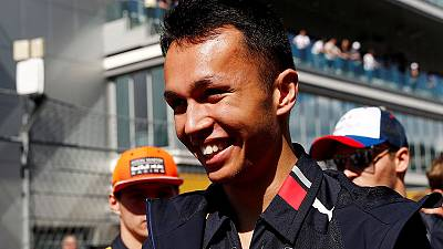 Albon to race on at Red Bull F1 team in 2020