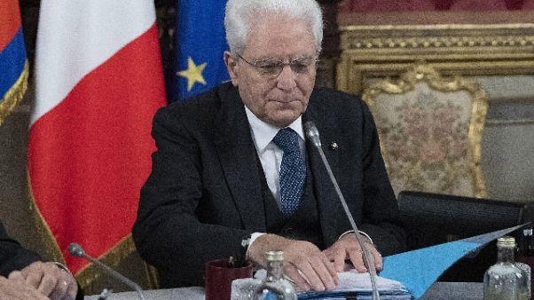 Mattarella, dazi contraddicono Alleanza