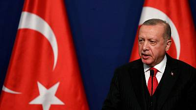 Turkey's Erdogan says talks with EU may end over Cyprus sanctions