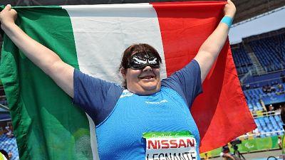Mondiali paralimpici:Legnante oro disco