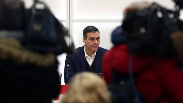 Spain's acting PM Sanchez and Podemos leader to make joint declaration - La Sexta