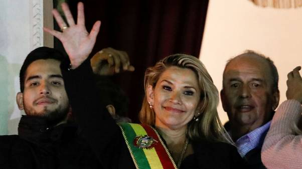 Bolivian Senate head assumes interim presidency; Morales' loyalists object