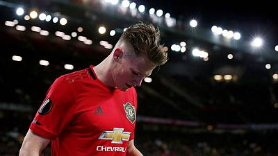 Man United's McTominay out of Scotland squad for Euro qualifiers