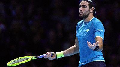 Atp Finals, Berrettini ko, vince Federer