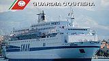 Traghetto per Albania fermato a Bari