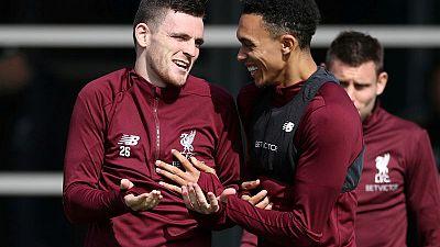 High standards helping Liverpool's full backs fire - Robertson