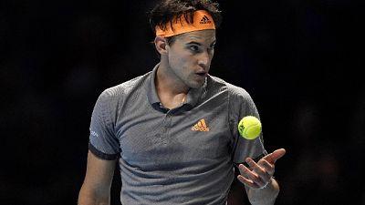 Tennis:Atp Finals,Thiem batte Djokovic