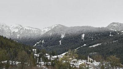 Caos e disagi per neve sulle Dolomiti