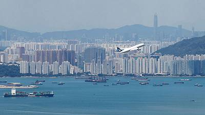 Cathay Pacific cuts profit guidance for second time amid Hong Kong protests