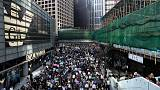 Frustration, safety fears at finance firms as protests paralyse Hong Kong