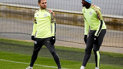 Manchester City's Silva handed one-game ban over Mendy tweet