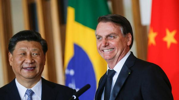 Bolsonaro and Xi cheer strong and growing Brazil-China relations