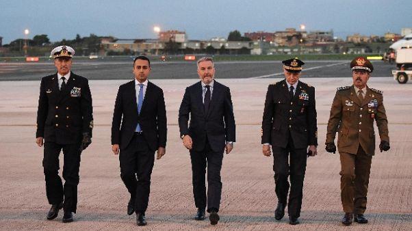 Iraq:aereo con militari feriti in Italia