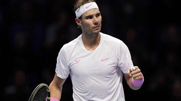 Atp:riscatto Nadal, Medvedev ko in 3 set