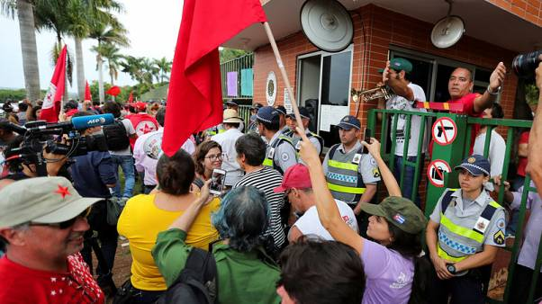 Backers of Venezuelan opposition leader occupy embassy in Brazil