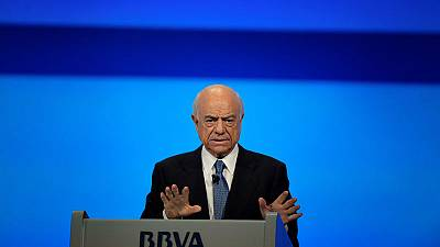 Spain's prosecutor asks court to put former BBVA chairman 'FG' under investigation