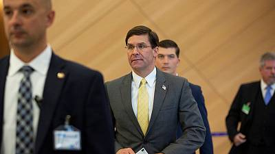 "Pentagon's Esper wants Turkey ""back in the fold"""