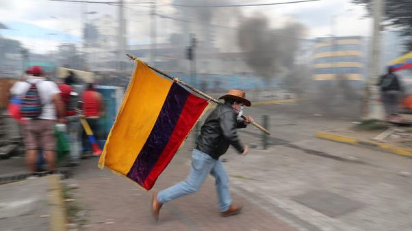 Ecuador probing influx of Cubans before anti-austerity protests