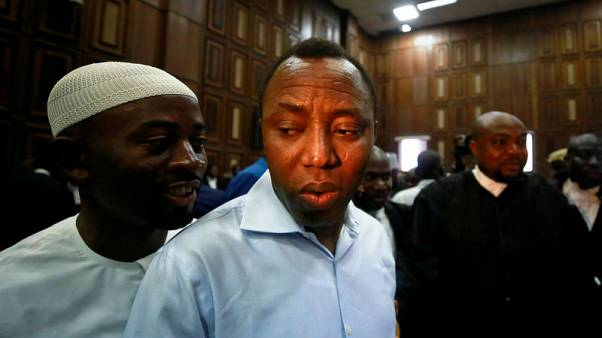 Nigeria security agency denies opening fire on supporters of detained activist