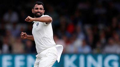 Shami, Ashwin put India on top despite sloppy catching