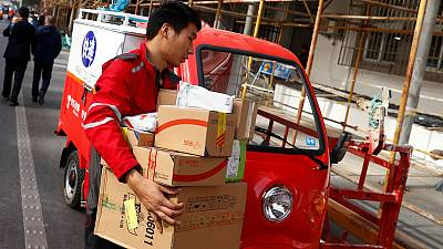 Jobs at risk as China's services sector feels heat of trade war
