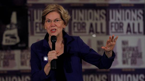 Warren lashes out at Goldman over Apple Card bias claims - Bloomberg