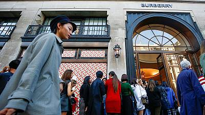 Burberry reports growth in second-quarter sales despite Hong Kong disruption