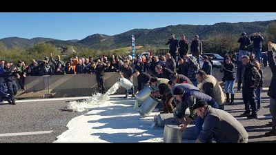 Latte: 250 pastori indagati per proteste