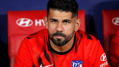 Atletico's Costa suffers slipped disc