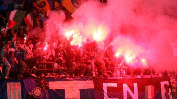Sorveglianza speciale per ultrà Inter