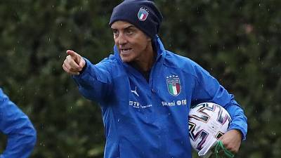 Mancini:Voglio vittoria anche con Bosnia