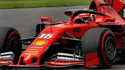 """F1:Brasile: Leclerc """"Nessuna pressione"""""""
