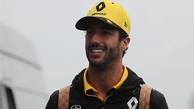 Champagne is Ricciardo's main aim for 2020