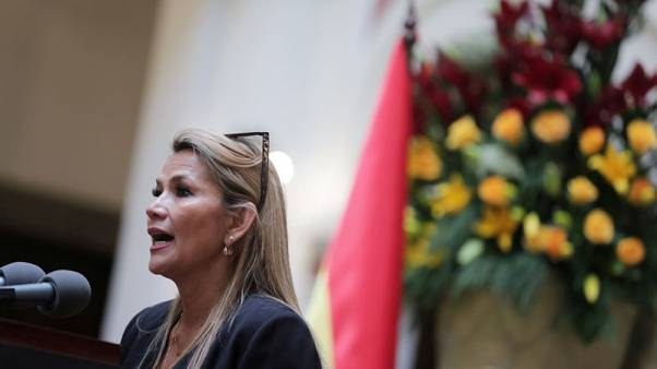 Russia says it's ready to work with new interim Bolivian leader