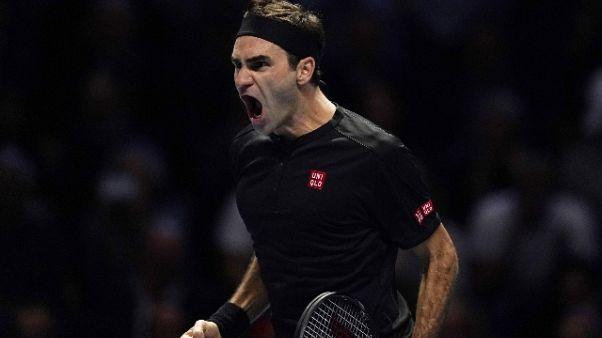Tennis:Djokovic ko,Federer in semifinale