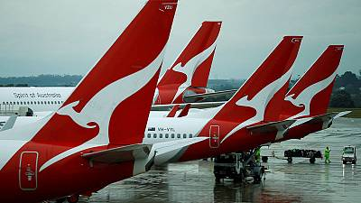 Qantas completes 'double sunrise' test flight from London to Sydney