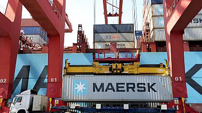 Maersk sees slight pick up in container traffic next year