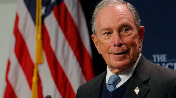Reuters/Ipsos poll: 3% support Bloomberg for Democratic nomination